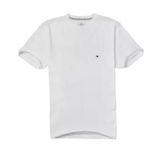 TOMMY HILFIGER 汤米·希尔费格 男士纯色圆领T恤