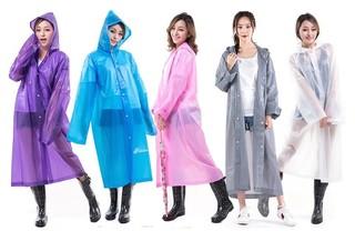 玛萱尼 男女通用长款雨衣