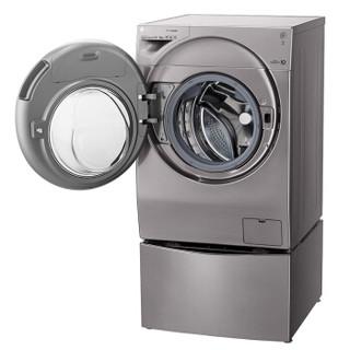 LG WDRH657C7HW 滚筒波轮二合一洗衣机 14KG 碳晶银