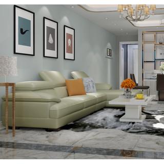 双11预售 : ZUOYOU 左右 2816 牛皮真皮沙发组合 转二件反向+休单