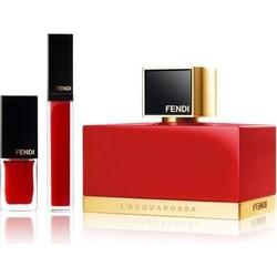 FENDI 芬迪 L'ACQUAROSSA 女士香水套装(香水50ml+唇釉6ml+指甲油5.5ml)