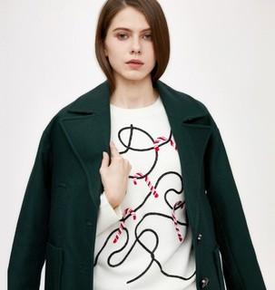 TOPSHOP 07X02MFOR 女士羊毛大衣