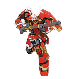 万代(BANDAI)高达GunDam拼插拼装模型玩具MG 1/100豪华武者顽驮无敢达0158211