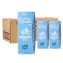 Old Dookie Road 澳杜克 低脂纯牛奶 200ml*24盒 *4件