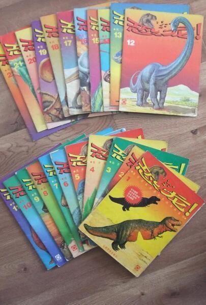 """▲""""恐龙热""""从这些图书中也可见一斑"""