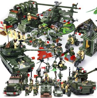 ENLIGHTEN 启蒙 军事系列 野战军团 全套11盒(4249片)