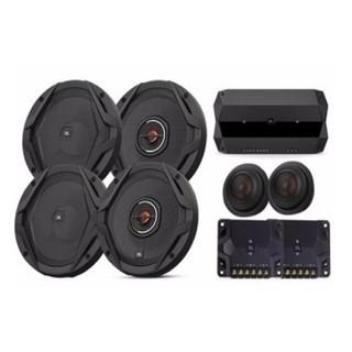 JBL 汽车音响改装 6.5英寸车载扬声器 GX四门发烧级+CLUB704