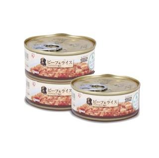IRIS 爱丽思 牛肉米饭 犬用罐头 100g*3罐