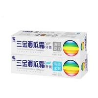 三金 西瓜霜牙膏 90g*2支装 4种香型可选