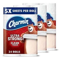Charmin 5倍超强韧双层卫生纸 家庭装 24大卷