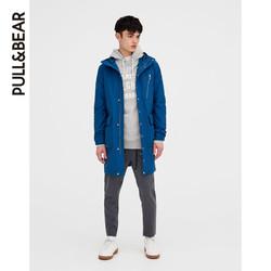 PULL&BEAR 05750700 男士口袋装饰派克大衣