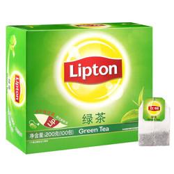 Lipton 立顿 绿茶茶包100包