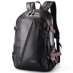 高尔夫 GOLF双肩包大容量防水旅行背包学生书包 D583832黑色
