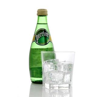 Perrier 巴黎水 气泡矿泉水 原味 玻璃瓶装1箱 330ml*24瓶  *2件