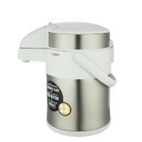 虎牌气压式保温壶 304不锈钢气压式热水壶旋转式家用桌面水瓶 珍珠白 MAA-A22C-XW2.2L *3件