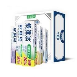 SENSODYNE 舒适达 抗敏感牙膏套装(120g*3+70g*2) *2件 +凑单品