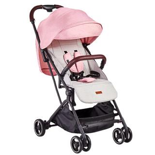 荟智(whiz bebe)轻便高景观婴儿推车 可上飞机/托运 可坐可躺 可单手收放HC588-M112G