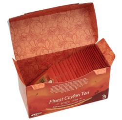 川宁(TWININGS) 茶叶红茶茶包 英国川宁精品锡兰茶 25包*2g *4件