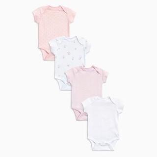 NEXT 女婴短袖连体衣 四件装