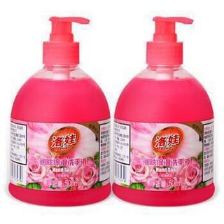 洛娃 洗手液玫瑰香型 500ml×2瓶 *3件