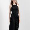 Gap女装 不对称设计无袖连衣裙 T恤式长裙297902 W 夏装新款 97元