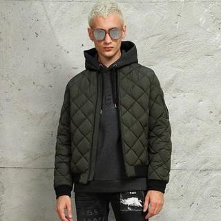 GUESS KG0W4852C 男士绗缝短款棉夹克 *2件