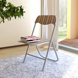 慧乐家  22030 电脑椅折叠椅 咖啡色 *2件