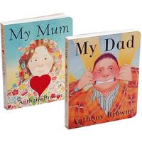 《My Dad My Mum 我爸爸+我妈妈》英文原版(套装全2册)