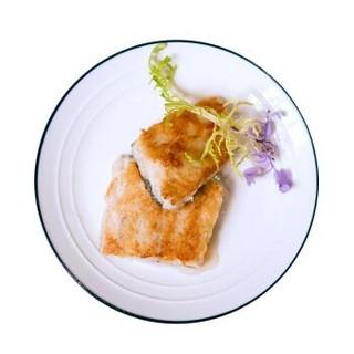 渔天下 冷冻挪威北极鳕鱼儿童鱼扒(调味易烹饪) 250g 3-5块 盒装