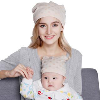 十月结晶 熊猫提花母子帽组合 *8件