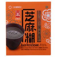 中国台湾进口 一本黑米高钙芝麻糊150g