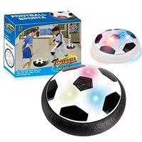 Addoil 气垫空气悬浮足球 世界杯儿童玩具 带灯光2只装 (中号15*6.2*15cm)