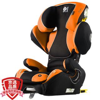 Kiddy 领航者fix 汽车儿童安全座椅 isofix接口 经典款 佳发橙