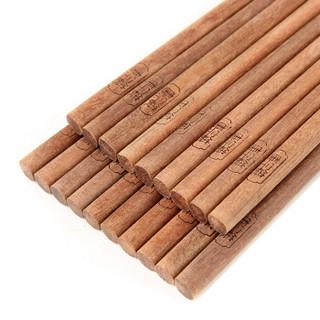 唐宗筷 木筷子 铁线子木无漆筷A653 10双装 *2件