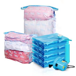 太力收纳袋真空压缩袋整理袋11件套(4立体5大)含电动抽气泵 *2件