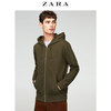 ZARA男装 珠地布连帽运动衫外套 01701440505 119元