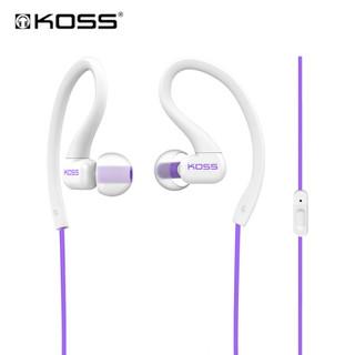 高斯 KSC32iV 时尚耳挂式运动耳塞 带麦 蓝紫色
