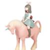 KEMElife 可米生活 白夜童话系列夜行独角兽小号 (2色)