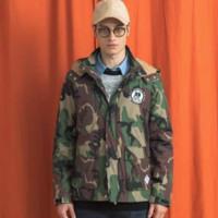 PREPPY ELITE PEA604CC-52 男士迷彩连帽外套