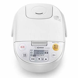 ZOJIRUSHI 象印 NL-AAH18C-CA微电脑电饭煲 5L(日本原装进口黑金刚全面环绕加热电饭煲  6-10人份)