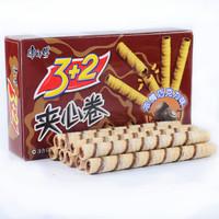 康师傅 3+2夹心卷浓情巧克力 55g