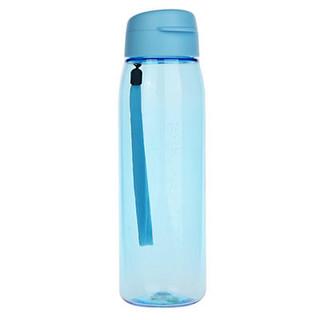 [2件8折,3件7折]特百惠乐活750ml水杯子运动水壶塑料大容量户外便携防漏随手杯 晴天蓝