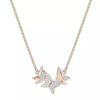 SWAROVSKI 施华洛世奇 5382366 LILIA 蝴蝶项链+凑单品