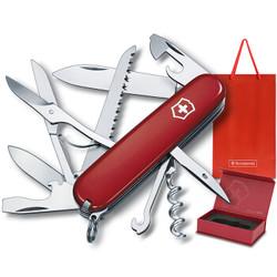 VICTORINOX 维氏 都市猎人 1.3713 瑞士军刀(15种功能) 红色 *2件