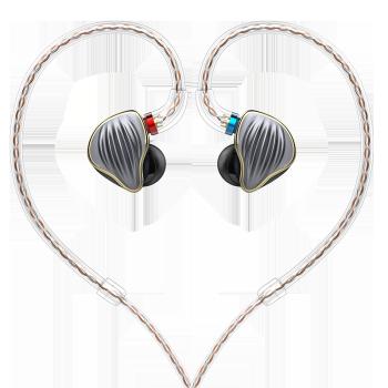 FiiO 飞傲 FH5 入耳式耳机 黑色