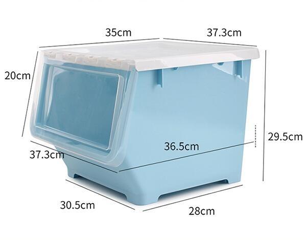 BELO 百露 前开式塑料收纳箱