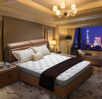 AIRLAND雅兰床垫 希尔顿商务版 五星酒店款独袋弹簧乳胶床垫 银离子抑菌抑螨 22cm