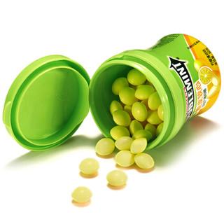 DOUBLEMINT 绿箭 脆皮软心薄荷糖 柠檬薄荷味 80g 单瓶装