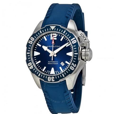 HAMILTON 汉米尔顿 Khaki Navy Frogman H77705345 男士机械腕表
