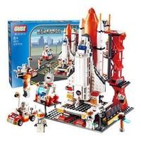GUDI 古迪 8815 儿童积木 航天飞机发射台